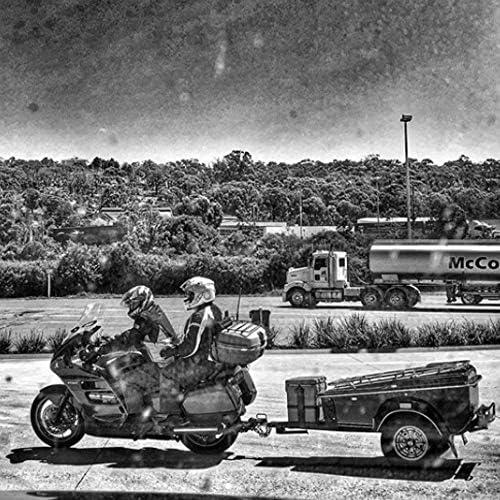 Herramienta de reparaci/ón de pinchazos para Moto Rocky Creek Color Azul
