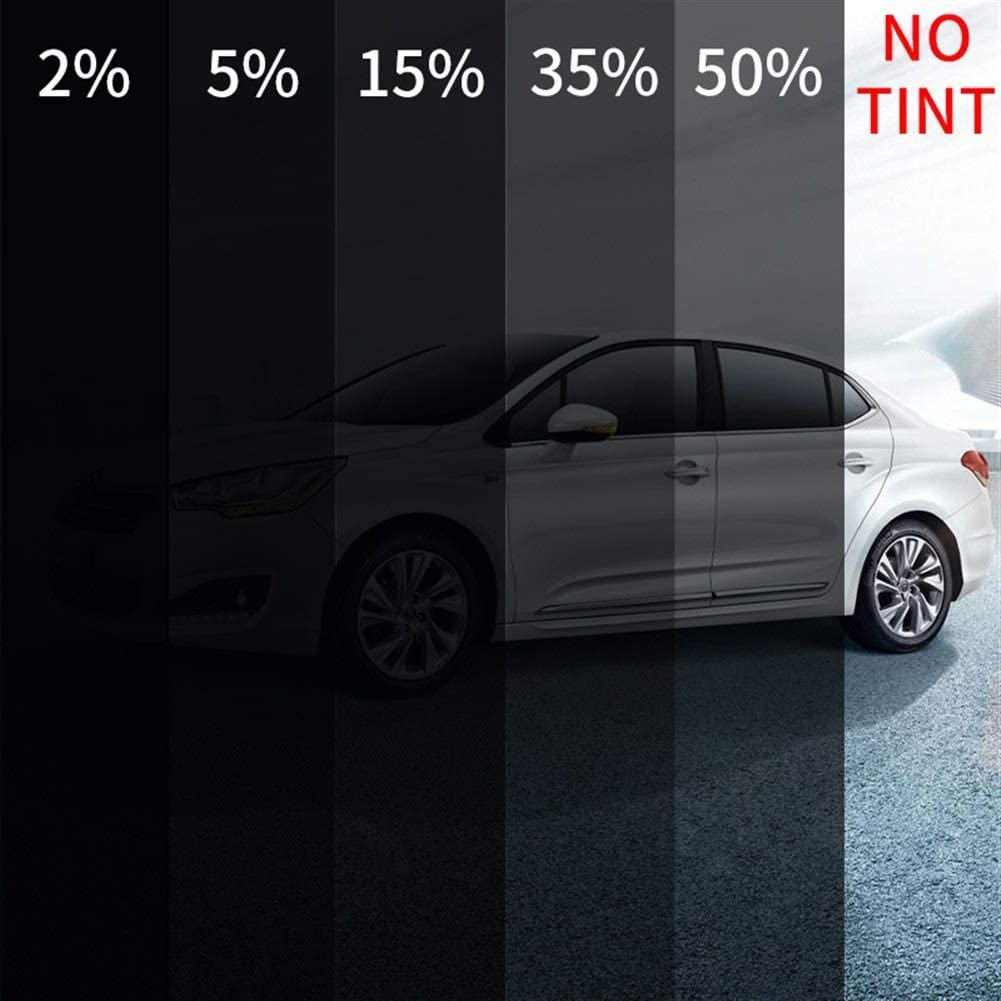 Lxxiulirzeu Schwarz Auto Auto-Haus-Fenster-Film Solar-Tint 20/% VLT Privatsph/äre Aufkleber Tint Hohe W/ärmed/ämmung Nano Keramik Film 0.5x12m