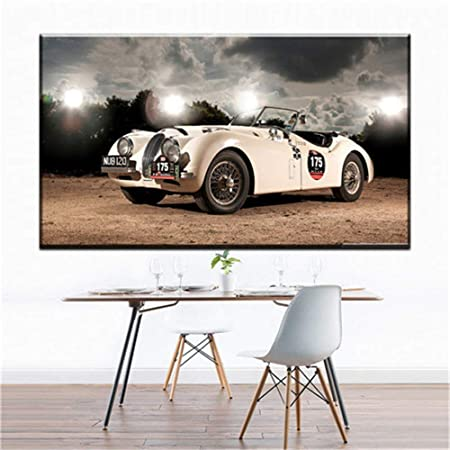 NIMCG Pared Lienzo Pintura Cool Racing decoración Lienzo ...
