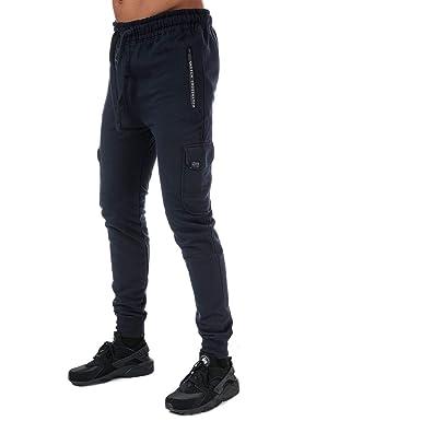 Crosshatch Black Label - Chándal - para Hombre Azul Azul XL ...