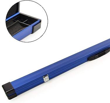 Tomahawk - Estuche para Tacos de Billar (2 Unidades, Aluminio), Azul, 2pc: Amazon.es: Deportes y aire libre