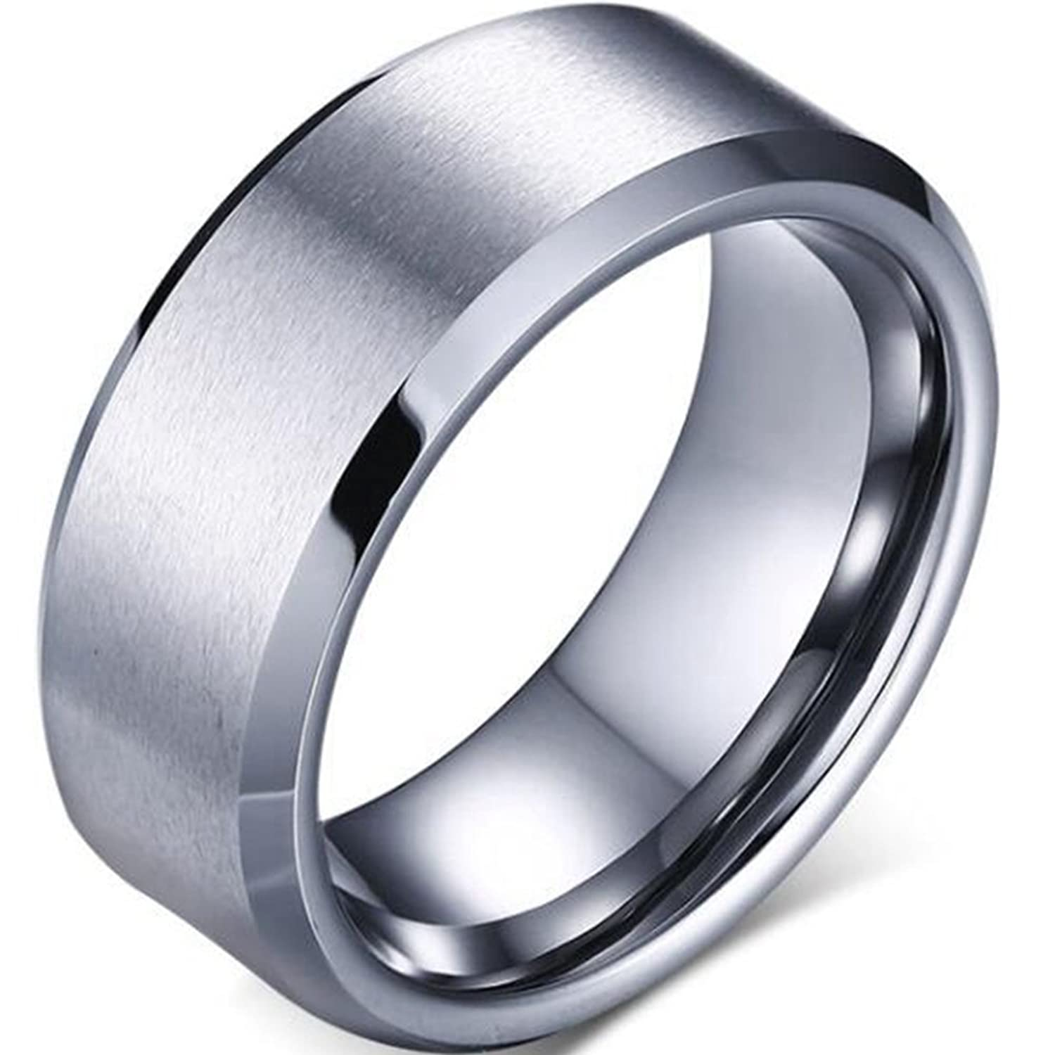 a171be6435eee Jude Jewelers 8mm Tungsten Carbide Ring Wedding Band Anniversary ...