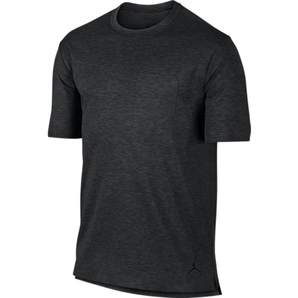 a6ff3809e4a4 Nike Air Jordan 23 Lux Pocket Mens T-Shirt Black Heather 802277 032 at  Amazon Men s Clothing store