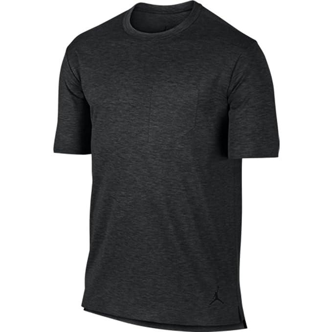 Nike Air Jordan 23 Lux Pocket Mens T-Shirt Black Heather 802277 032 (m