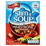 Batchelors Slim a Soup Minestrone with Croutons (4 per pack - 61g) - Pack of 2