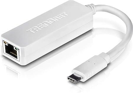 TRENDnet TUC-ETG (v1.0R) - Adaptador de Red (USB-C a Gigabit) Blanco