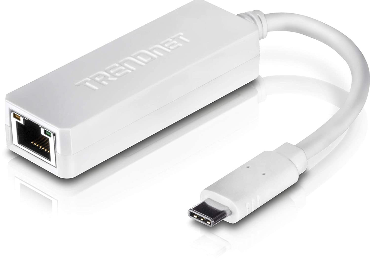 TRENDnet TUC-ETG (v1.0R) - Adaptador de Red (USB-C a Gigabit) Blanco