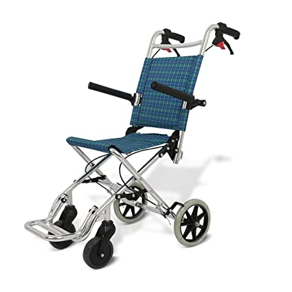 Silla de ruedas autopropulsada, silla de viaje, silla de ...