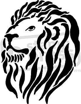 Lion Head Icon Theme Template Vector Art