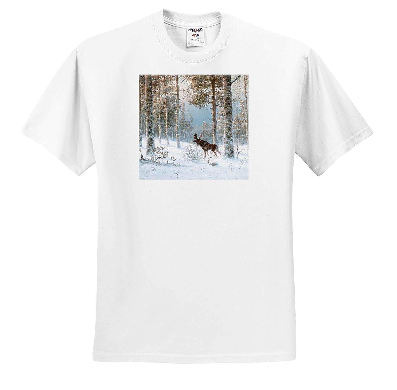 Albert D/ürer Lucas Harebells and Centaur T-Shirts 3dRose VintageChest Flowers
