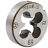 M 8 x 0,75 métrico 2,54 cm OD