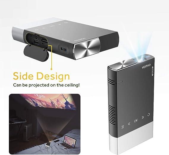 Vamvo Ultra Portable Mini Projector 1080p Hd Led Elektronik
