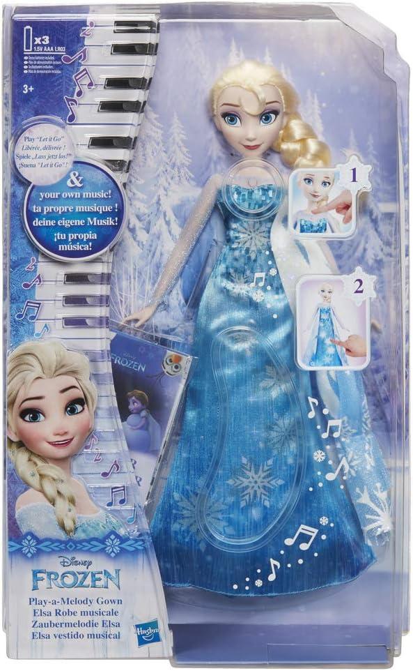 Frozen - Muñeca Elsa cantarina (Hasbro C0455EU5)