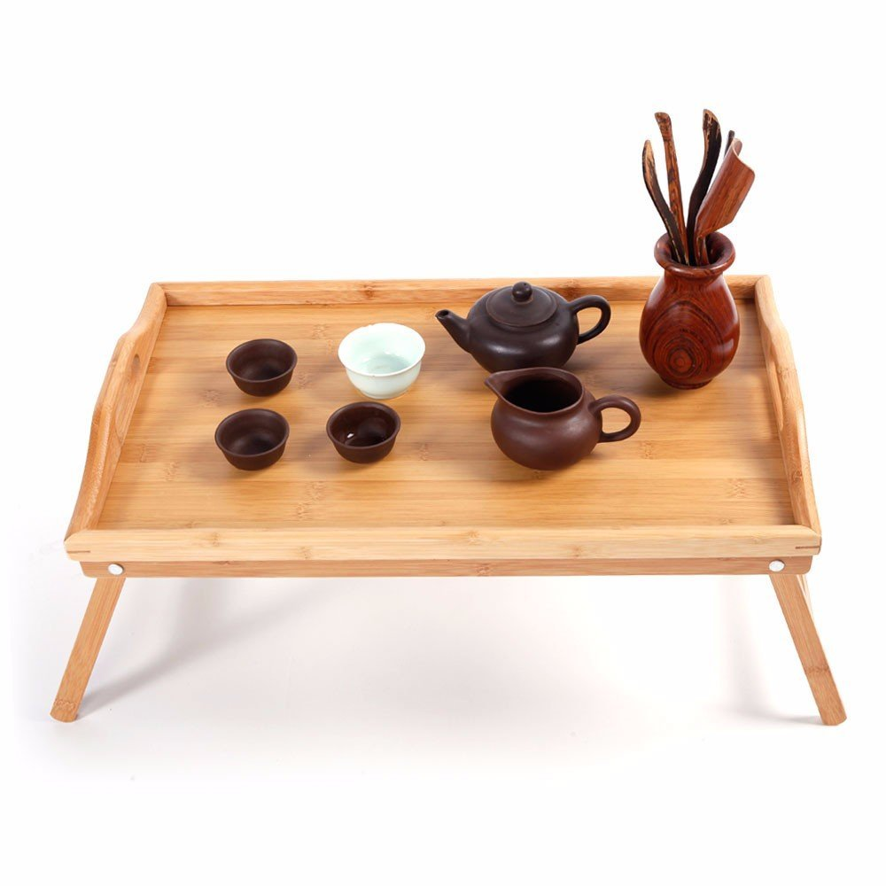 Simple Bamboo Tea Table Wood Color by SHUTAO (Image #4)