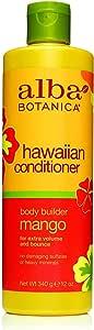 Alba Botanica Hawaiian Mango Conditioner by Alba Botanica for Unisex - 12 oz Conditioner, 340 g