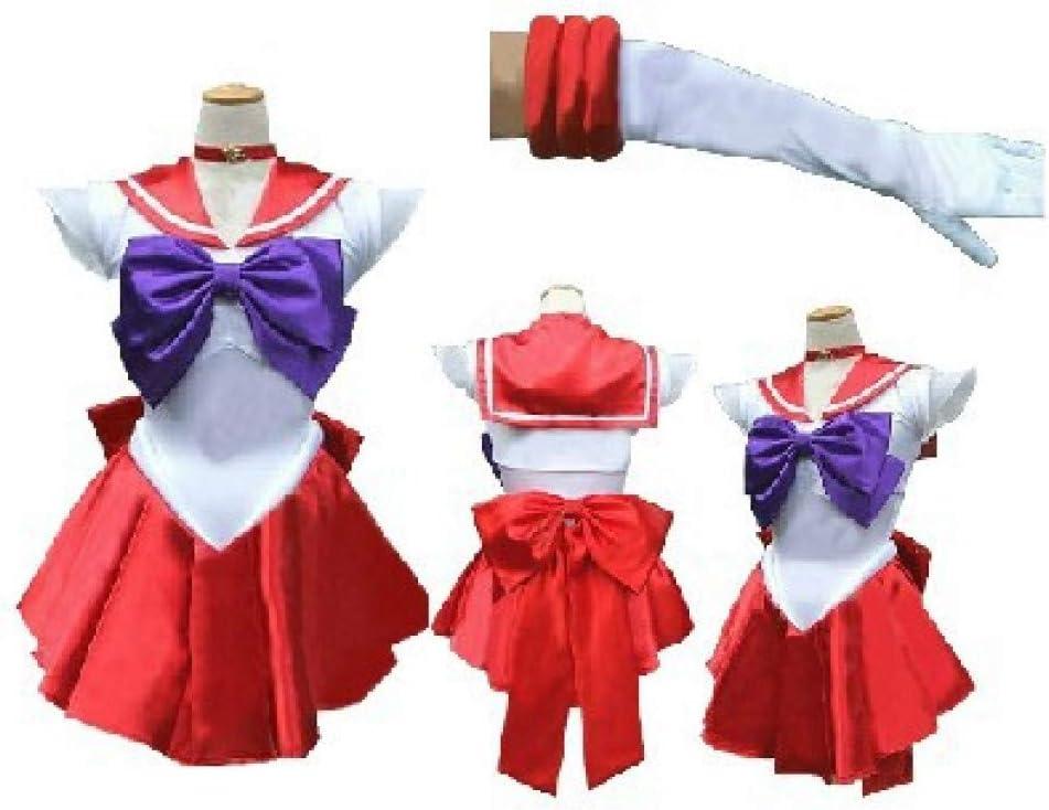 ZHANGSDJ Costumi Natalizi Traje De Navidad Anime Sailor Moon ...