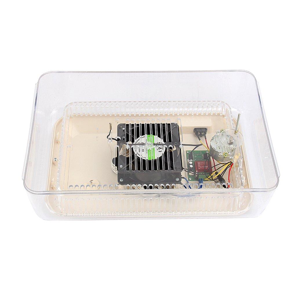 zjchao Incubadora del Huevo volteo Digital automatico con Control de Temperatura, 24 Huevos: Amazon.es: Jardín