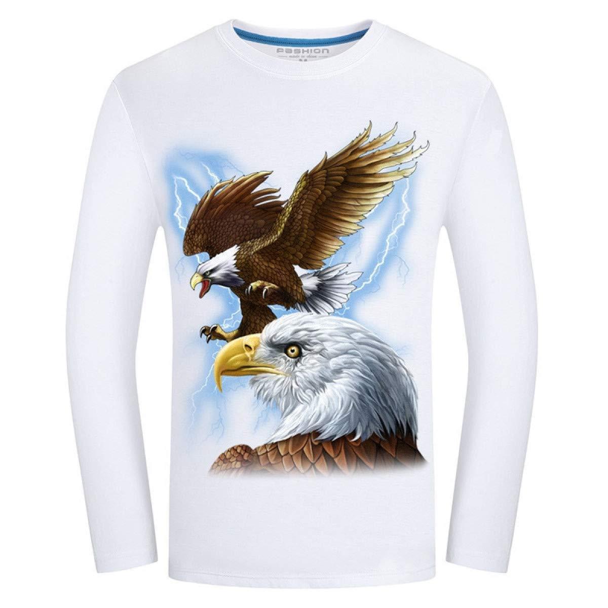 FLAMENCO_STORE Men t-Shirt Long Sleeve Cool Design 3D Funny t ...