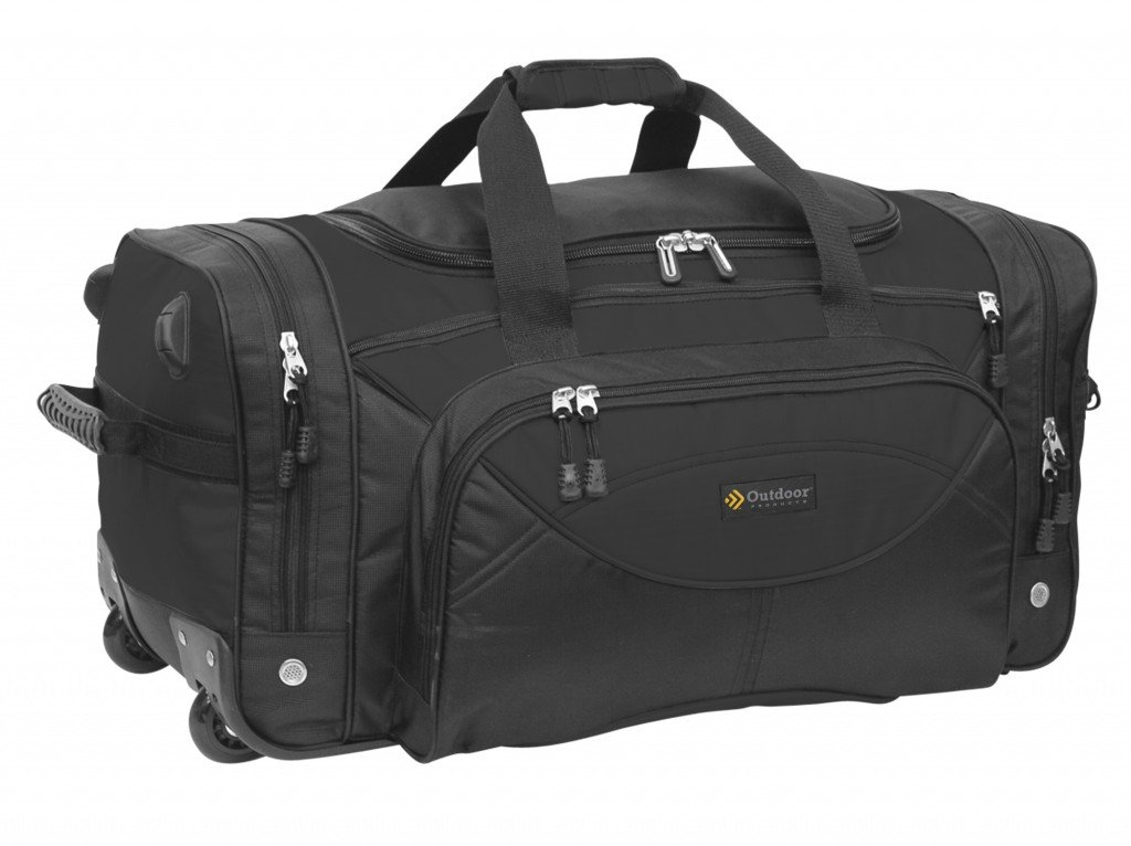 Outdoor Products O'Hare Rolling Travel Bag, 83.5-Liter Storage well-wreapped