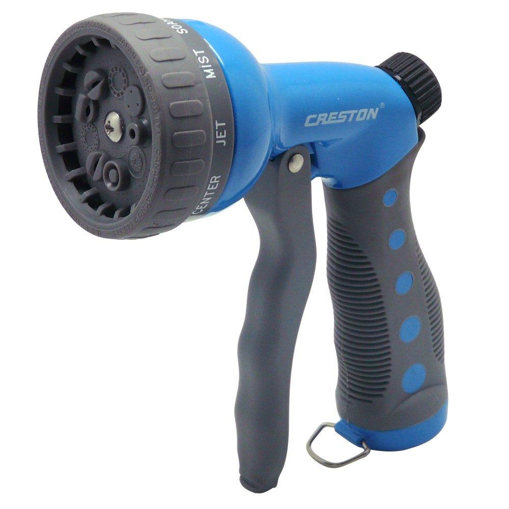 Garden Hose Nozzle Sprayer Metal Hand Water Spray Gun Nozzles W Pistol Grip
