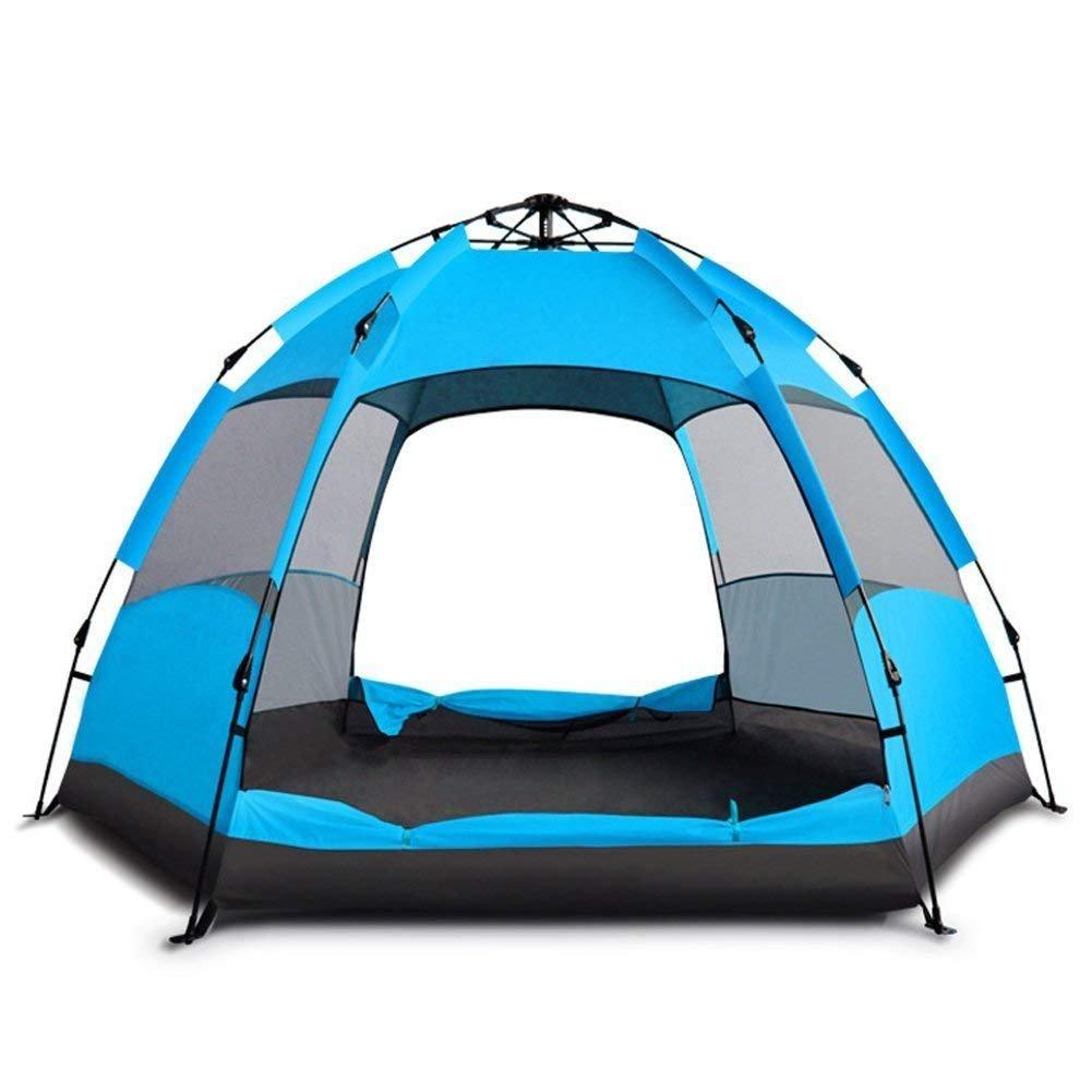 MIY & Senden Dome Zelt Automatische Instant Camping Wasserdicht Hydraulische Anti UV-6 bis 8 Man Festival Zelten für Outdoor Camping Wandern Reisen Familie