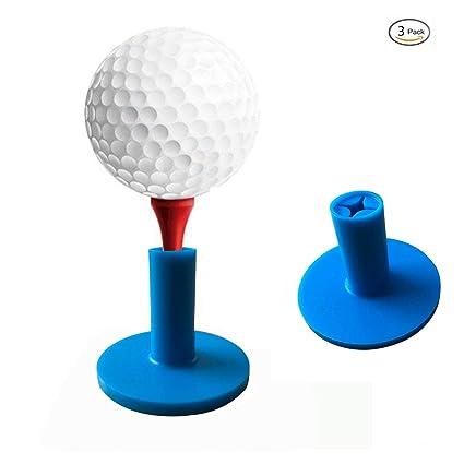 Amazon Com Kofull Durable Golf Rubber Tees Holder Golf Mat Range
