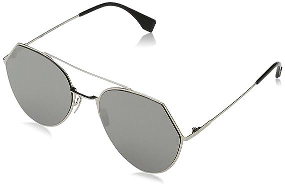c5c80872a8ab1 Fendi 3YG Light Gold 0194S Round Sunglasses Lens Category 3 Lens ...