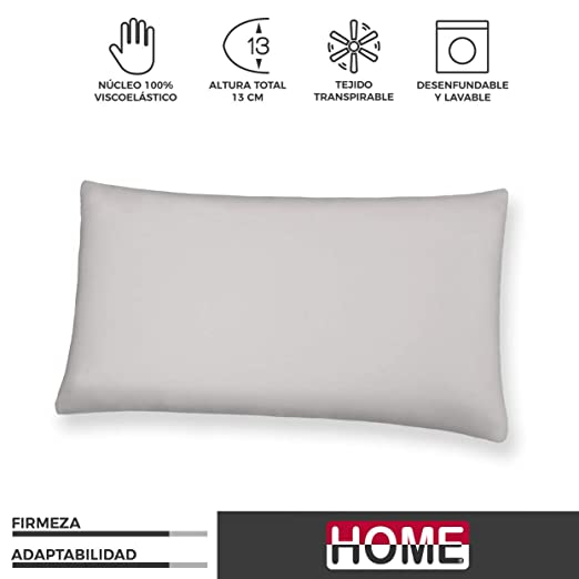 Komfortland Almohada 135 cm viscoelástica Visco One