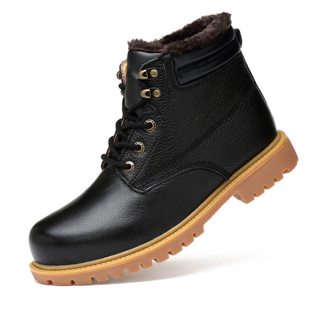 Ailishabroy Männer Klassische Winter warme Schuhe Herren Schnee Kurze Stiefel