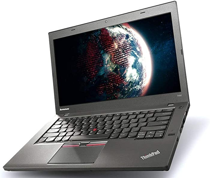 2019 Lenovo ThinkPad T450s 14inch Ultrabook Premium Business Laptop Computer, Intel Core i5-5300U Up to 2.9GHz, 8GB RAM, 256GB SSD, 802.11ac WiFi, Bluetooth, Windows 10 Professional (Renewed)