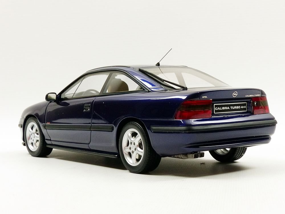Otto Mobile ot689 Opel Calibra Turbo 4 x 4 - 1996 (escala 1/18, azul Metal: Ottomobile: Amazon.es: Juguetes y juegos