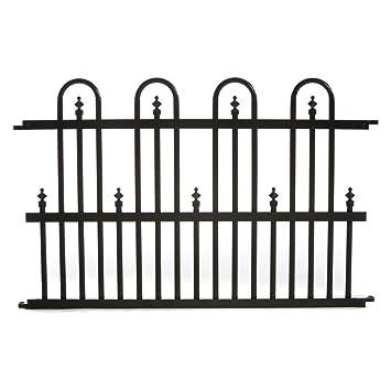 specrail standard aluminum fence panel