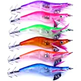 Angeln Köder Köder, lanowo 6LED elektronische Licht Garnelen Locken Squid Jigs Köder Bass Köder Fisch Equipment 650214205700