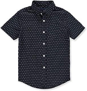 French Toast Baby-Boys Baby Short Sleeve Woven Poplin Shirt French Toast Sportswear Children's Apparel LE1635