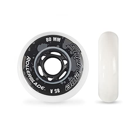 Rollerblade Supreme 80mm 85a Wheels White 80 Mm