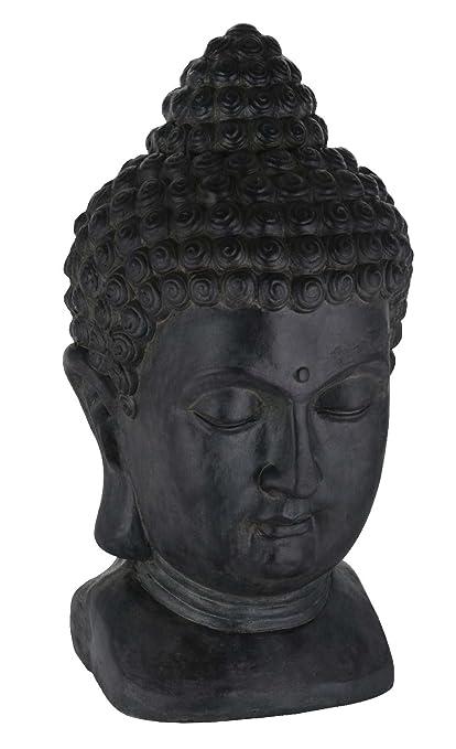 Buddha Kopf Deko.Amazon De Sidco Buddha Kopf Xxl Dekofigur Großer Buddhakopf