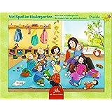 Spiegelburg 12694 Rahmenpuzzle Viel Spaß im Kindergarten ( 24 Teile)
