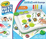 : Crayola Color Wonder Mess-Free Art Desk with Stamps,Coloring Board
