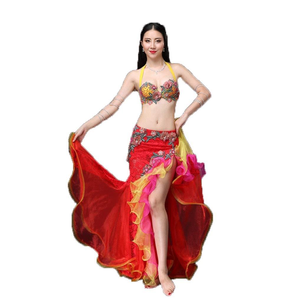 有名なブランド ベリーダンスの衣装セクシーな女性の大人のツーピーススーツの冬の衣装 B07PFGVBR6 B07PFGVBR6 Red/Yellow M|Red/Yellow M Red/Yellow M, 豊後高田市:247d93b1 --- a0267596.xsph.ru