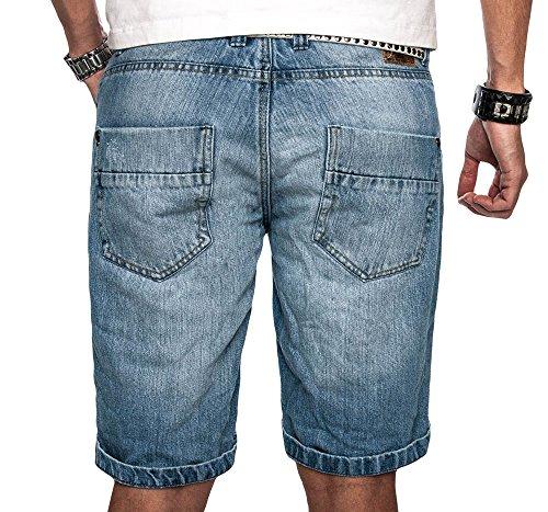 Schöne Herren Sommer Jeans Shorts kurze Hose hellblaue denim Short blau NEU  B138  B138 - Hellblau - W29   Amazon.de  Bekleidung 13d575535f
