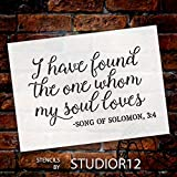 """I Have Found the One Stencil by StudioR12 