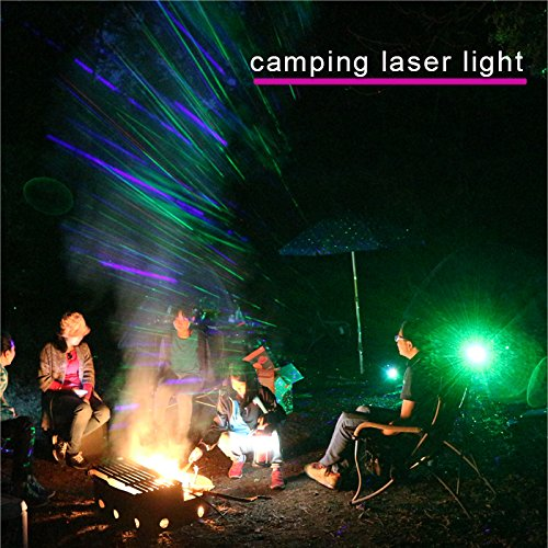 Starry Laser Lights Projector Lights Outdoor Waterproof Laser Lamp for Outdoor Garden/Yard/Wall Family Gathering Party KTV Wedding Night Club Decoration (Green and Blue) by Starry
