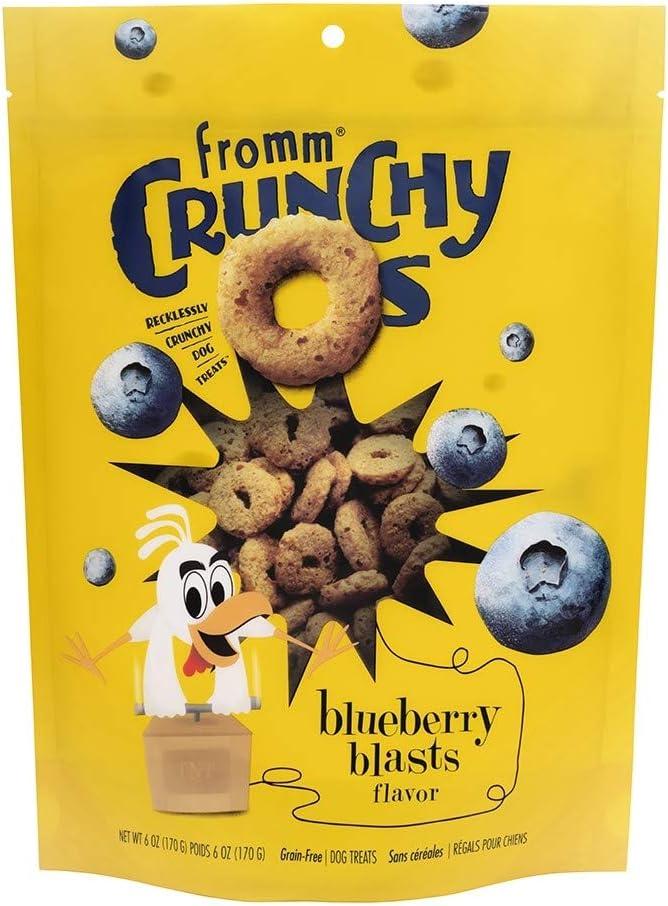 Fromm Crunchy O's Dog Treats 6 oz