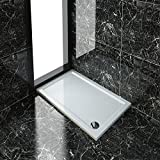 Rectangular 1200x760x40mm Stone Tray for Shower Enclosure Cubicle+Free Waste Trap NEXT DAY DELIVERY by sunny showers,ultra