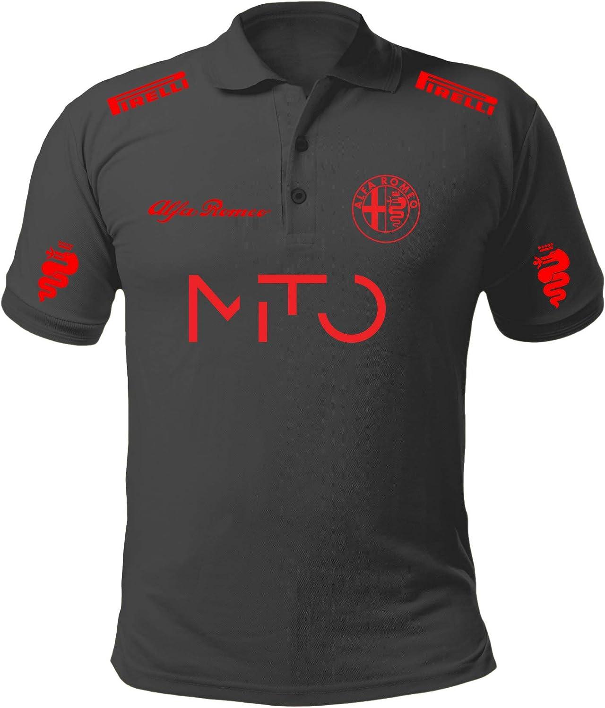 REITANO GROUP Polo Camiseta Estilo Alfa Romeo Mito Giulietta ...