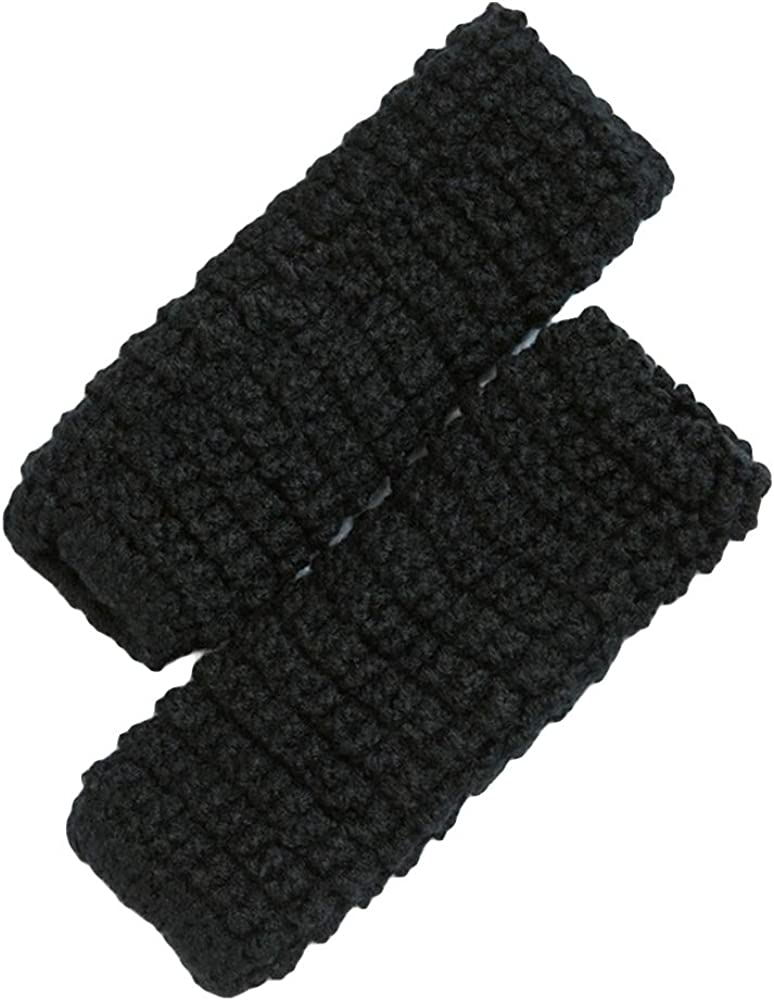 Yamalans Womens Winter Solid Color Knitted Leg Warmers Boot Socks Boot Cuffs Socks
