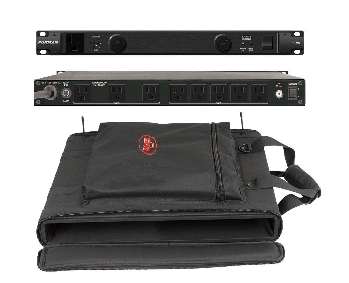 Furman PL-8 C Rack Mount Power Conditioner + SKB 1SKB-SC191U 1U Shoulder Bag