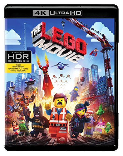 4 Pack Legos - The Lego Movie (4K Ultra HD + Blu-ray + Digital HD)