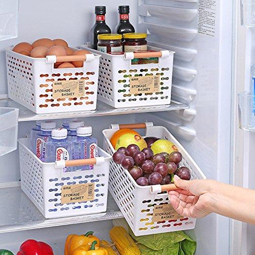 bureze Küche Kühlschrank Korb Kühlschrank Aufbewahrung Rack
