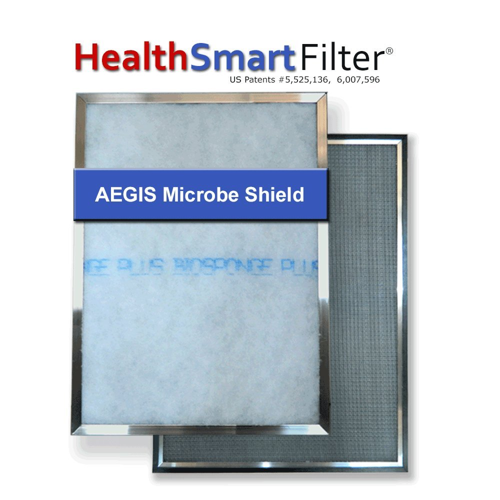 HealthSmart 19 1/4 x 29 1/4 AC filter / Furnace filter with (1) BioSponge Plus Refill